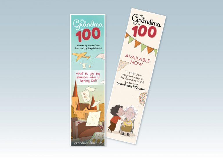 Grandma is 100 bookmarks